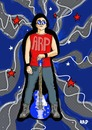 Cartoon: Dreams of stardom (small) by tonyp tagged arp,dreams,star,arptoons,music