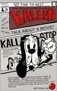 Cartoon: FRONT COVER OF KALLEN (small) by tonyp tagged arp,kallen,arptoons,cartoon,magazine,comic,book