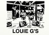 Cartoon: LOUIE G S INSIDE (small) by tonyp tagged louie,gs,arp,arptoons,bar,drink