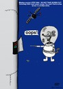 Cartoon: OOPS (small) by tonyp tagged arptoons,arp,space,mouse,oops