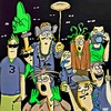 Cartoon: Seattle SeaHawk fans (small) by tonyp tagged arp,arptoons,tonyp,seahawks,seattle,sports,football