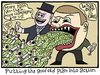 Cartoon: Cuts (small) by baggelboy tagged economics,money,cuts