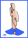 Cartoon: Giorgio Chiellini (small) by juniorlopes tagged world,cup,2010