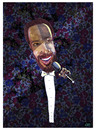 Cartoon: Marvin Gaye (small) by juniorlopes tagged marvin,gaye