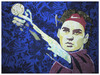 Cartoon: Roger Federer (small) by juniorlopes tagged tennis,illustration