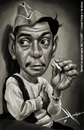 Cartoon: Mario Moreno Cantinflas (small) by Mecho tagged cantinflas,comediant,mexico