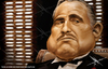 Cartoon: The Godfather (small) by Mecho tagged the,godfather,don,vito,marlon,brandon