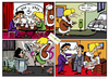 Cartoon: comiks (small) by ivo tagged wow