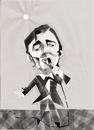 Cartoon: Karel Gott (small) by ivo tagged wow