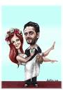 Cartoon: wedding (small) by ivo tagged wow