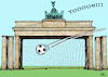 Cartoon: Euro 24 in Deutschland (small) by RachelGold tagged uefa,europa,meisterschaft,2024,euro24,deutschland