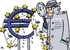 Cartoon: Hiobs Boten (small) by RachelGold tagged eu,euro,rating,eurokrise