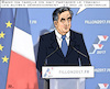 Cartoon: politique un entreprise familial (small) by RachelGold tagged france,presidential,election,campaign,fillon