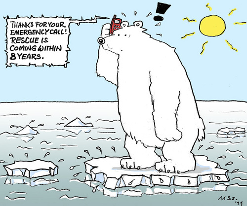 Cartoon: World-Climate-Summit (medium) by MarkusSzy tagged ecology,rescue,emergency,summit,climate,world