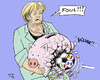 Cartoon: Another German Defeat (small) by MarkusSzy tagged eu,euro,crisis,summit,brussels,germany,merkel,austerity,defeat,soccer