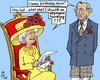 Cartoon: Nice Try (small) by MarkusSzy tagged monarchy,abdication,throne,queen,elizabeth,charles,juan,carlos,felipe,elephant,hunting