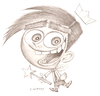 Cartoon: Cosmo (small) by jim worthy tagged the,fairly,oddparents,cartoon,animation,nickelodeon