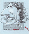 Cartoon: Diego Forlan (small) by zed tagged diego,forlan,uruguay,sport,football,world,cup,portrait,caricature