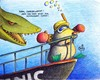 Cartoon: Maulwurf Titanic (small) by Jupp tagged maulwurf,mole,titanic,schiff,tauchen,hai,bomm,jupp,film,kino,blind,helm,könig,der,welt,schnorchel,taucherbrille,brille,taucher,schnorcheln,bug,flossen,wasser,water,deepsea,sea,ocean,meer,see,die,wrack,cinema,great,klassiker