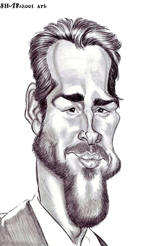 Cartoon: Ryan Reynolds (medium) by shar2001 tagged reynolds,ryan,caricature