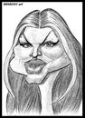 Cartoon: Fergie (small) by shar2001 tagged caricature,fergie