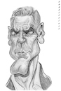 Cartoon: George Clooney (small) by shar2001 tagged caricature,george,clooney