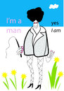 Cartoon: I m a man (small) by studionuts tagged man