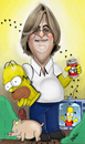 Cartoon: Matt Groening (small) by tooned tagged cartoons caricature illustrati