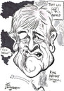 Cartoon: KENNY DALGLISH (small) by Tim Leatherbarrow tagged kenny,dalglish,liverpool,football,manager,king