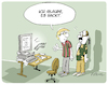 Cartoon: Es hackt (small) by FEICKE tagged hacker,informatik,digitalisierung,cyber