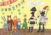 Cartoon: Party (small) by Sergei Belozerov tagged santa,party,children,sex,sadomasochism,toys,nightclub