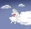 Cartoon: ... (small) by Elkin tagged god,eternity,universe
