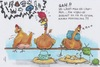 Cartoon: Vibro Ei (small) by secretcircle tagged romantik,liebe,paar,hühner,huhn,chicken,gackern,stall,tier,gockel,henne,ei,eier,egg,kamm,wut,ärger,schlafen,stange,stroh