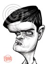 Cartoon: Ian Curtis (small) by Russ Cook tagged joy,division,ian,curtis,russ,cook,caricature,cartoon,zeichnung,singer,love,will,tear,us,apart,digital,pencil,wacom,cintiq,photoshop