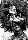 Cartoon: Jerry Garcia (small) by Russ Cook tagged jerry garcia grateful guitarist guitar dead rock musician music 60s stoner stoned acid folk psychedelic russ cook zeichnung karikatur karikaturen illustration caricature cartoon drawing