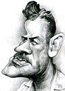 Cartoon: John Steinbeck (small) by Russ Cook tagged john,steinbeck,writer,america,author,pencil,drawing,caricature,portrait,illustration,cartoon,zeichnung,karikature,russ,cook,karikaturen