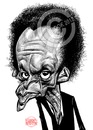 Cartoon: Miles Davis (small) by Russ Cook tagged miles,davis,caricature,drawing,karikatur,karikaturen,illustration,zeichnung,jazz,trumpet,band,leader,america,american,musician,be,bop,photoshop,wacom,cintiq