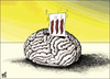 Cartoon: 111 YES (small) by samir alramahi tagged jordan,arab,ramahi,cartoon,democracy