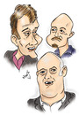 Cartoon: Mock the week...Part 1 (small) by Mark Anthony Brind tagged mock,the,week,dara,obriain,andy,parsons,hugh,dennis