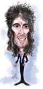 Cartoon: Russell Brand (small) by Mark Anthony Brind tagged mark,anthony,brind,russell,brand