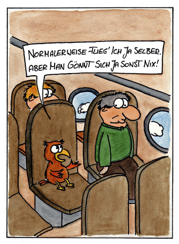 Cartoon: Fliegen (medium) by spass-beiseite tagged fliegen,vogel,flugzeug,wolken,beiseite,spass,unterhaltung,panel,fun,illustration,design,pointe,kunst,comicstrips,comictagebuch,tagebuch,comic,cartoons,cartoon,witz,bildwitz