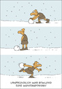 Cartoon: Bowling (small) by JanKunz tagged schnee,winter,steinzeit,kegeln