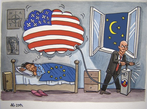 Cartoon: American dream (medium) by caknuta-chajanka tagged america,politics