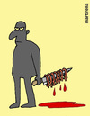 Cartoon: Serial murderer. (small) by martirena tagged serial,murderer