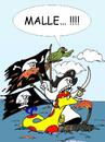 Cartoon: Ginger und Kalaschnikow 35 (small) by wista tagged ginger,kalaschnikow,malle,mallorca,piraten,papagei,totenkopf,floss,piratenschiff