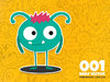 Cartoon: Daily Vector 001 (small) by kellerac tagged daily,vector,cartoon,monster,cute,blue,simple