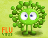 Cartoon: The Flu Virus (small) by kellerac tagged cartoon,virus,kellerac,caricatura,maria,keller,flu,gripe,mexico