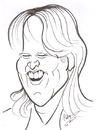 Cartoon: Alex Lifeson (small) by cabap tagged caricature