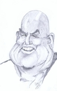 Cartoon: Don Lafontaine (small) by cabap tagged caricature