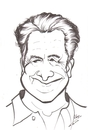 Cartoon: Dustin Hoffman (small) by cabap tagged caricature